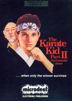 Portada de la descarga de The Karate Kid Part II