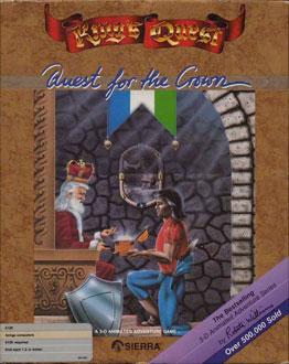 Portada de la descarga de King's Quest: Quest For The Crown