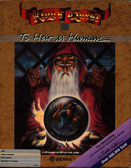 Juego online King's Quest III: To Heir Is Human (AMIGA)