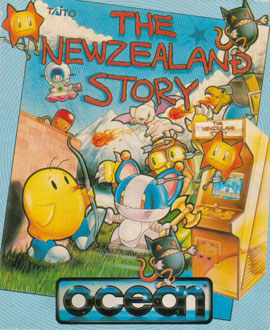 Portada de la descarga de The New Zealand Story