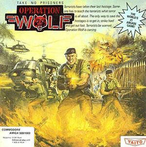 Juego online Operation Wolf (AMIGA)