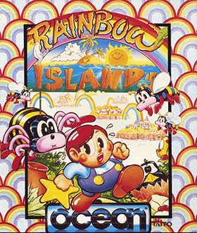 Portada de la descarga de Rainbow Islands