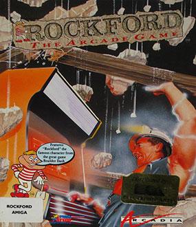Portada de la descarga de Rockford: The Arcade Game