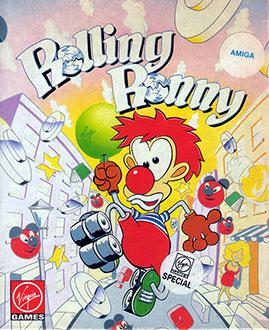 Juego online Rolling Ronny (AMIGA)