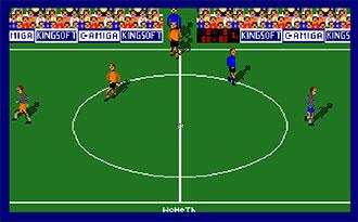 Portada de la descarga de Soccer King