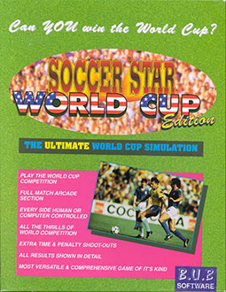 Juego online Soccer Star World Cup Edition (AMIGA)