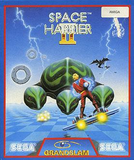 Juego online Space Harrier II (AMIGA)
