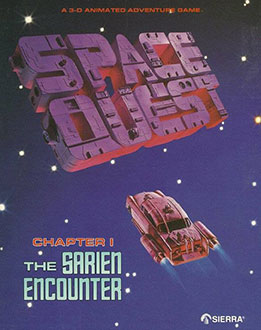 Portada de la descarga de Space Quest: Chapter I – The Sarien Encounter