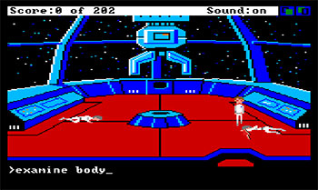 Imagen de la descarga de Space Quest: Chapter I – The Sarien Encounter