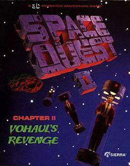 Portada de la descarga de Space Quest II: Chapter II – Vohaul's Revenge