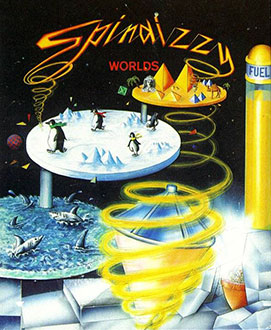 Portada de la descarga de Spindizzy Worlds