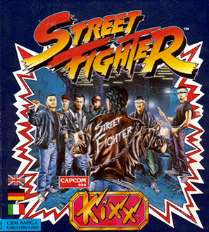 Portada de la descarga de Street Fighter