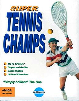 Portada de la descarga de Super Tennis Champs