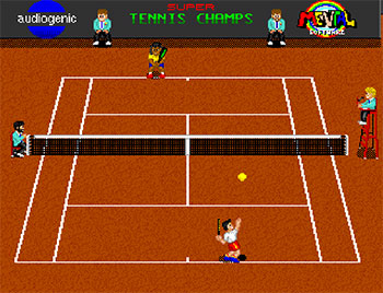 Imagen de la descarga de Super Tennis Champs