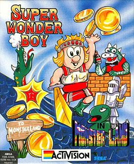 Portada de la descarga de Super Wonder Boy in Monster Land