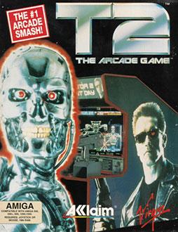 Portada de la descarga de T2: The Arcade Game