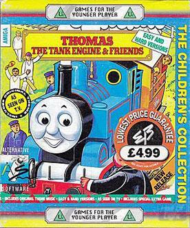 Portada de la descarga de Thomas the Tank Engine & Friends