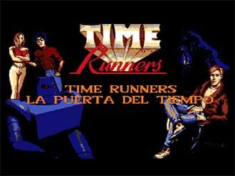 Juego online Time Runners 01: La Puerta del Tiempo (AMIGA)
