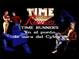 Portada de la descarga de Time Runners 12: En el Punto de Mira del Ciborg