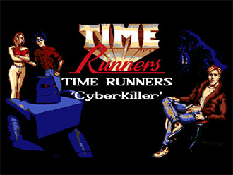 Portada de la descarga de Time Runners 13: Cyberkiller