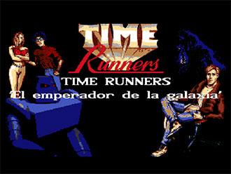 Portada de la descarga de Time Runners 16: El Emperador de la Galaxia