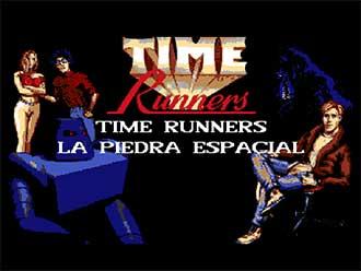 Portada de la descarga de Time Runners 02: La Piedra Espacial