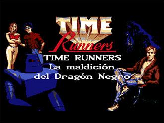 Juego online Time Runners 21: La Maldicion del Dragon Negro (AMIGA)