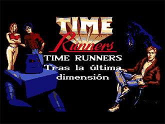 Portada de la descarga de Time Runners 24: Tras la Ultima Dimension