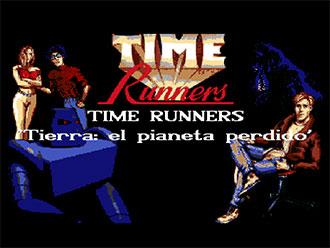 Portada de la descarga de Time Runners 25: Tierra: El Planeta Perdido