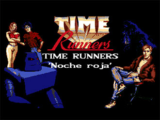 Portada de la descarga de Time Runners 27: Noche Roja