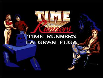Portada de la descarga de Time Runners 03: La Gran Fuga