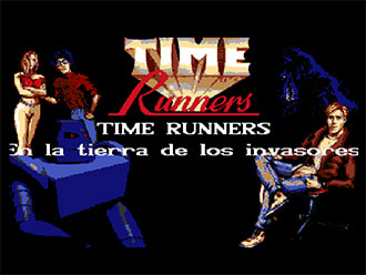 Portada de la descarga de Time Runners 07: En la Tierra de los Invasores