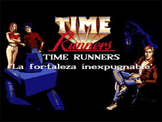 Portada de la descarga de Time Runners 08: La Fortaleza Inexpugnable