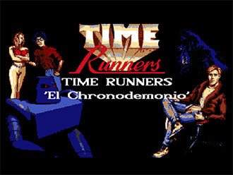 Portada de la descarga de Time Runners 09: El Chronodemonio