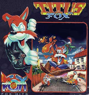 Juego online Titus the Fox: To Marrakech and Back (AMIGA)