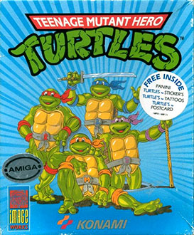 Juego online Teenage Mutant Hero Turtles (AMIGA)