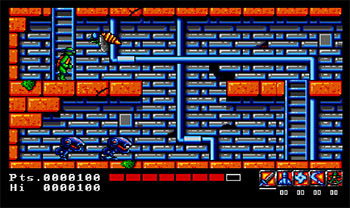 Imagen de la descarga de Teenage Mutant Hero Turtles