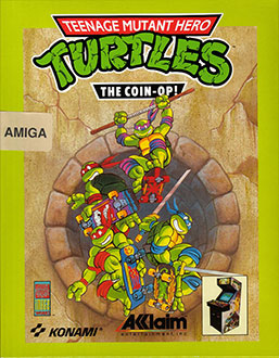 Portada de la descarga de Teenage Mutant Hero Turtles: The Coin-Op!