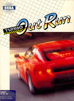 Juego online Turbo Out Run (AMIGA)