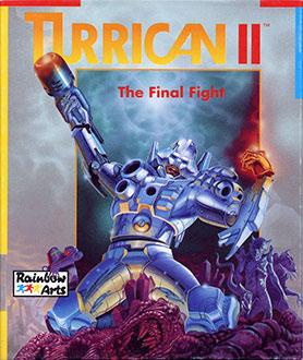 Portada de la descarga de Turrican II: The Final Fight