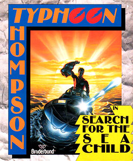Juego online Typhoon Thompson in Search for the Sea Child (AMIGA)