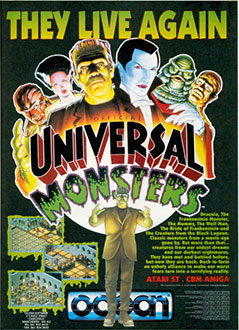 Portada de la descarga de Universal Monsters