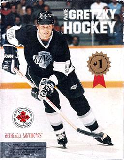 Portada de la descarga de Wayne Gretzky Hockey