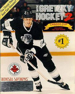 Portada de la descarga de Wayne Gretzky Hockey 2