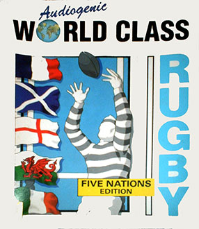 Portada de la descarga de World Class Rugby: Five Nations Edition