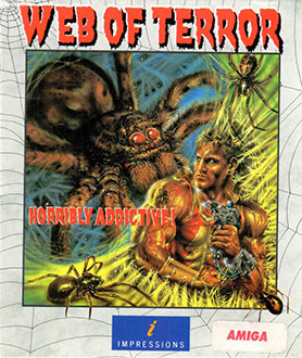 Portada de la descarga de Web of Terror