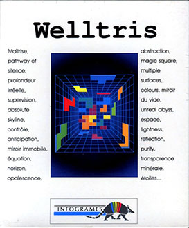 Portada de la descarga de Welltris