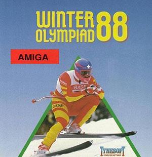 Juego online Winter Olympiad 88 (AMIGA)