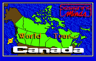 Juego online World Tour: Canada (AMIGA)