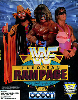 Portada de la descarga de WWF European Rampage Tour